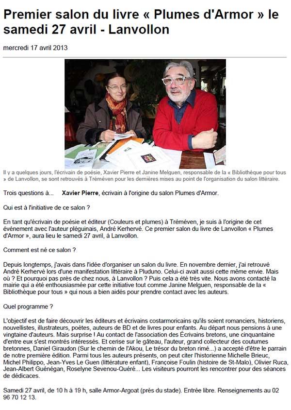 ouest-france-2013-04-17-entretien