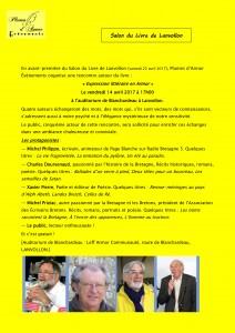 Présentation Rencontre Blanchardeau